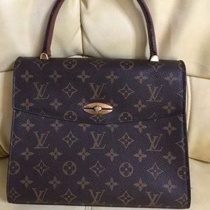 LV Malesherbes kelly authentic vintage